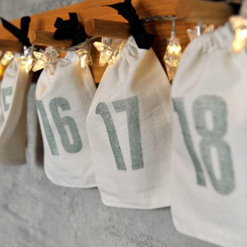 24 Adventskalendersäcke