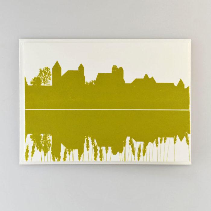 Karte Schloss olive