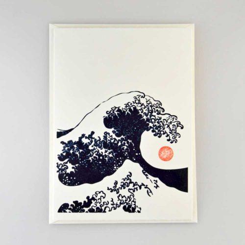 Karte Japanische Welle