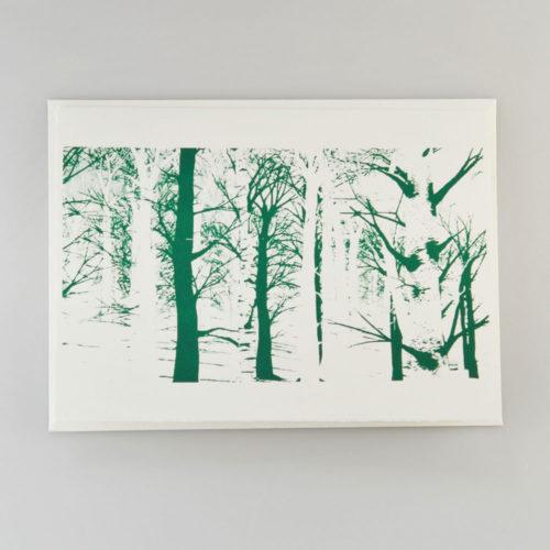 Karte Wald dunkelgrün